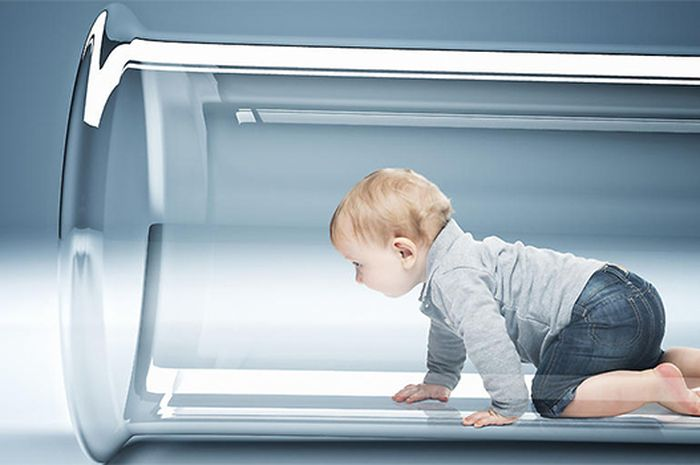 Ilustrasi bayi tabung