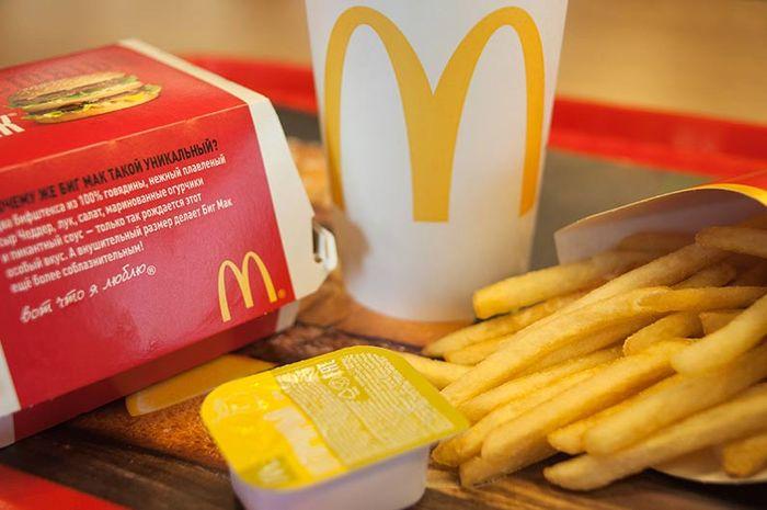 Makanan McDonald's yang dianjurkan