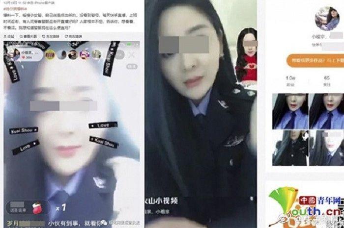 Hu ditangkap polisi karena 'salah' menggunakan pakaian saat sedang live streaming