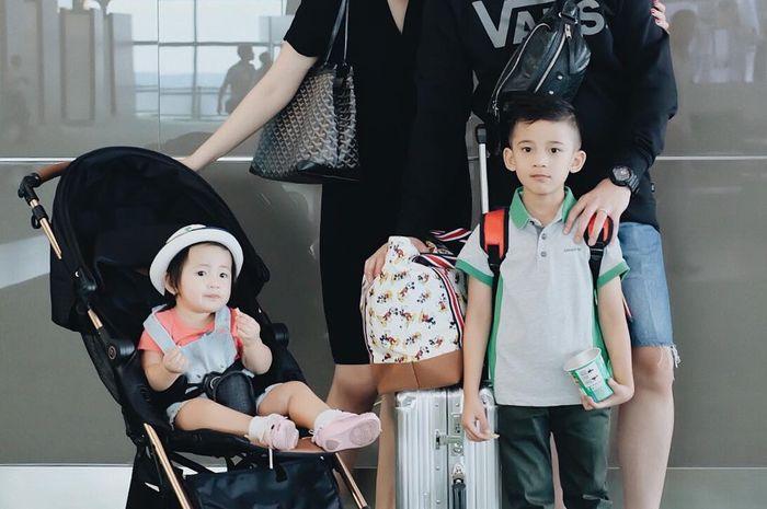 Nindy Ayunda Liburan ke Bali bersama keluarga