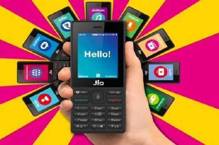 Mengenal Jio Phone Smartphone Murah Rp 350 Ribu 4G LTE