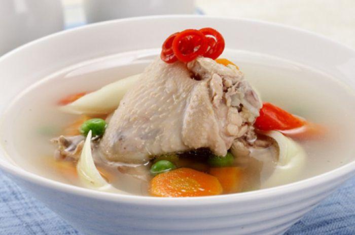 Hangatkan Suasana di Akhir Pekan dengan Menu Lezat Sup Ayam Jahe (Sajian Sedap)