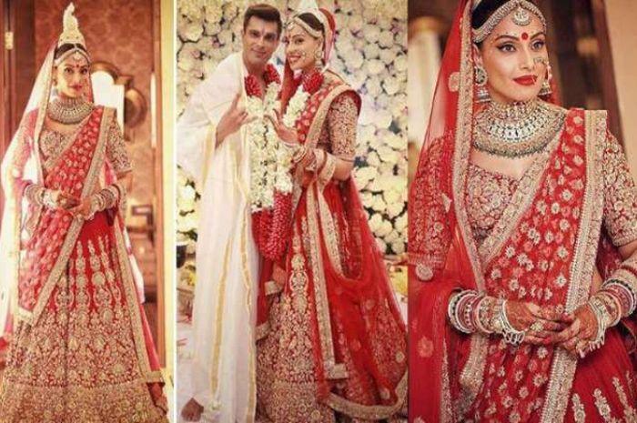 Pernikahan mewah dan megah ala  Bollywood