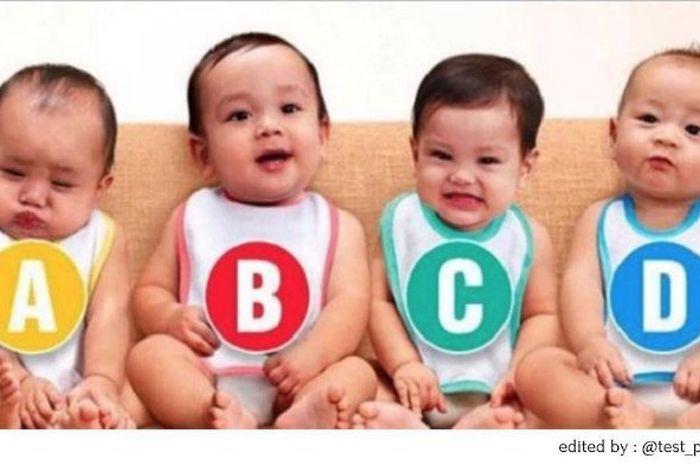 Tebak mana bayi perempuan
