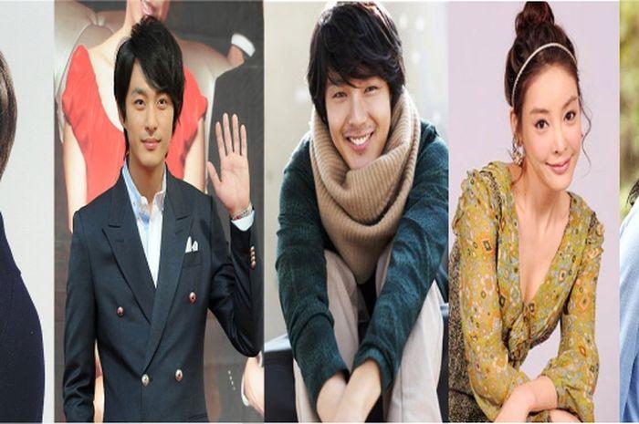 Kiri - kanan : Jonghyun, Tae Soo, Yong Ha, Ja Yeon, Eun Joo