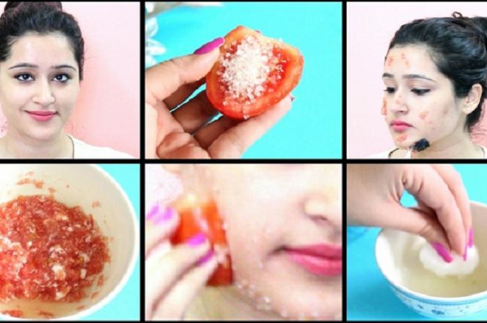 Coba Deh 6 Metode Tomat Ini Lihat Apa Yang Terjadi Pada Kulit Beberapa Menit Kemudian Semua Halaman Nakita