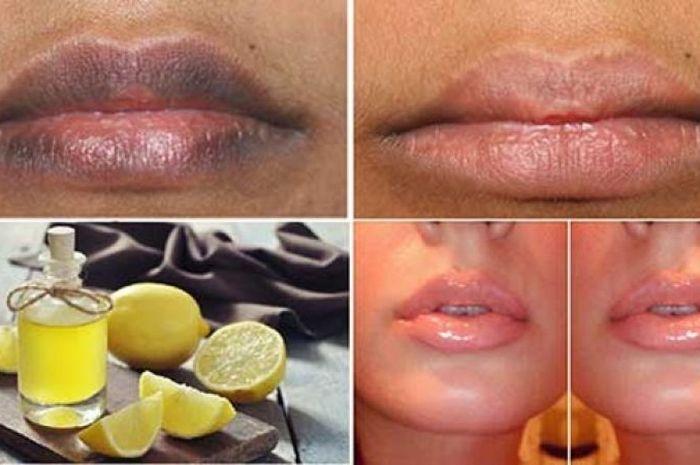 Bibir pink alami dalam 10 menit