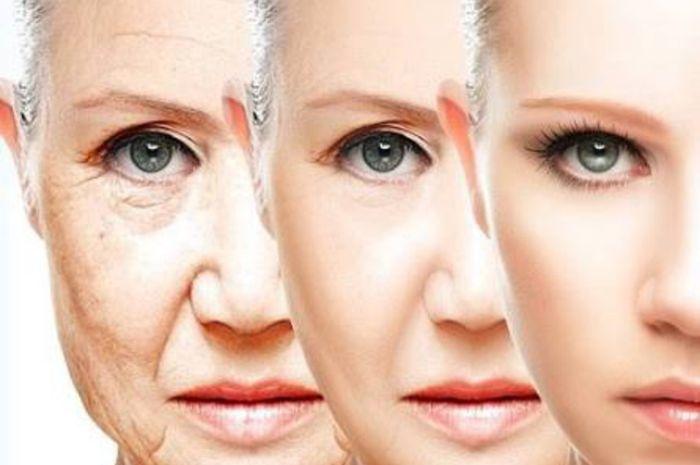 tanda penuaan dini