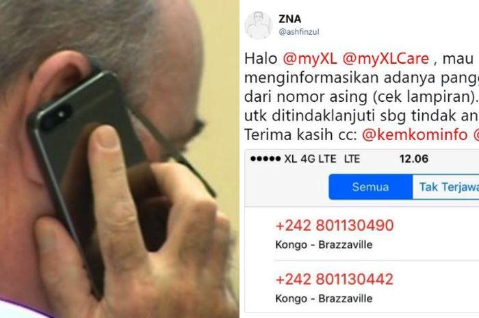 Awas Miss Call Misterius Dari Nomor Luar Negeri Jangan Telpon