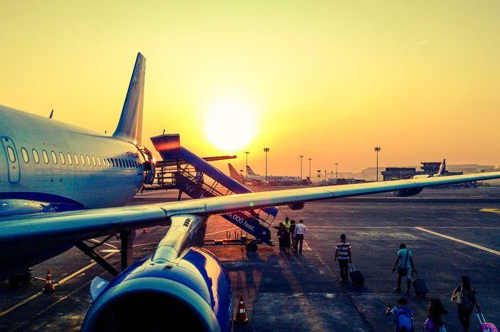 Perhatikan kesehatan tubuh saat melakukan perjalanan udara