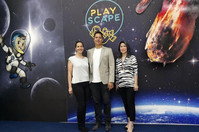 PlayScape, taman bermain multimedia yang dapat mengedukasi pengunjungnya