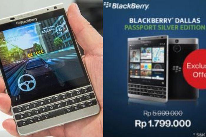 Erafone Jual Blackberry Passport Silver Edition Seharga Rp 1 90bd6d1c78