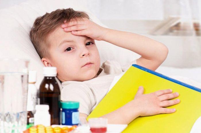 Obat untuk menurunkan panas pada anak.