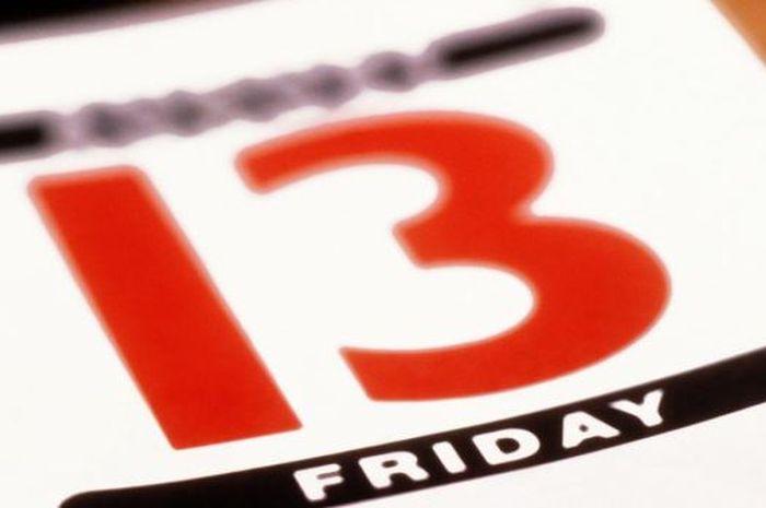 Jumat tanggal 13 dianggap hari pembawa kesialan