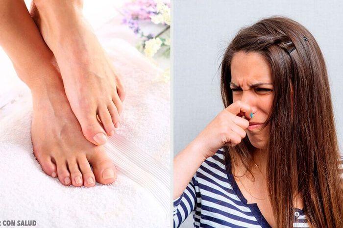 11 cara menghilangkan bau kaki