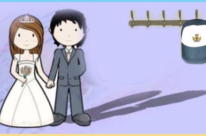 pernikahan dini di Indonesia ternyata diperbolehkan lo..