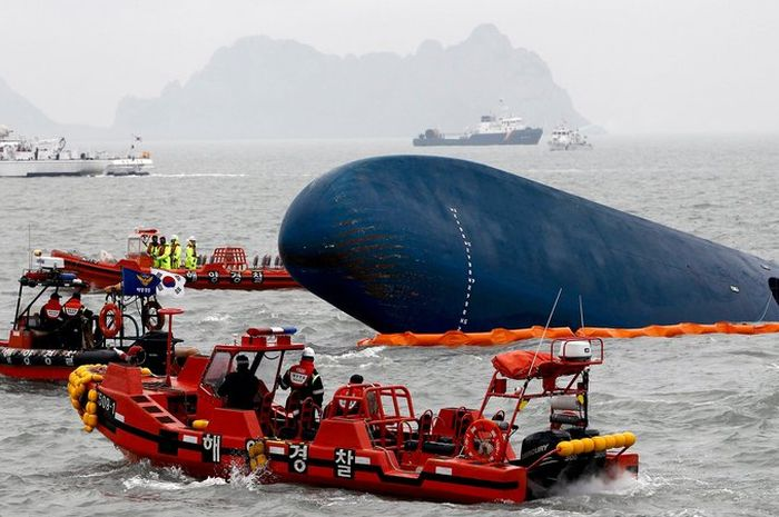 4 Tahun Tragedi Kapal Sewol: Kapal Feri Yang Tenggelam Dan