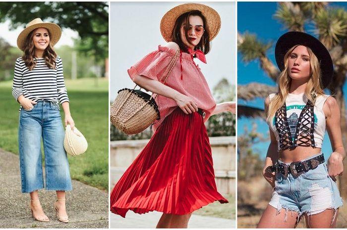 Aksesori topi jerami jadi fashion items kekinian setelah banyak selebgram  dunia berpose mengenakannya. 7a35f0f766