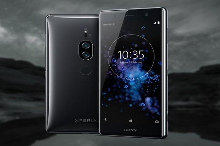 Sony Xperia XZ2 Premium mengusung layar berukuran 4.8 inci 4K dengan dukungan HDR.