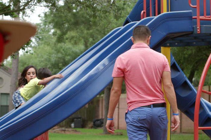 Menghabiskan waktu dengan anak-anak meski hanya lima menit saja menjadi berharga.