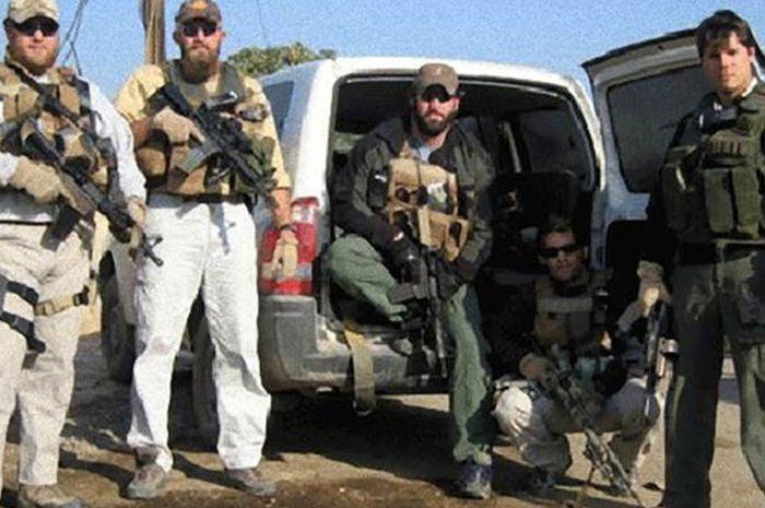 Profil tentara bayaran di Irak