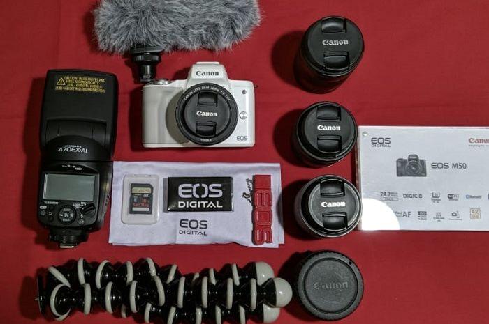 Canon EOS M50 yang didesain untuk para vlogger
