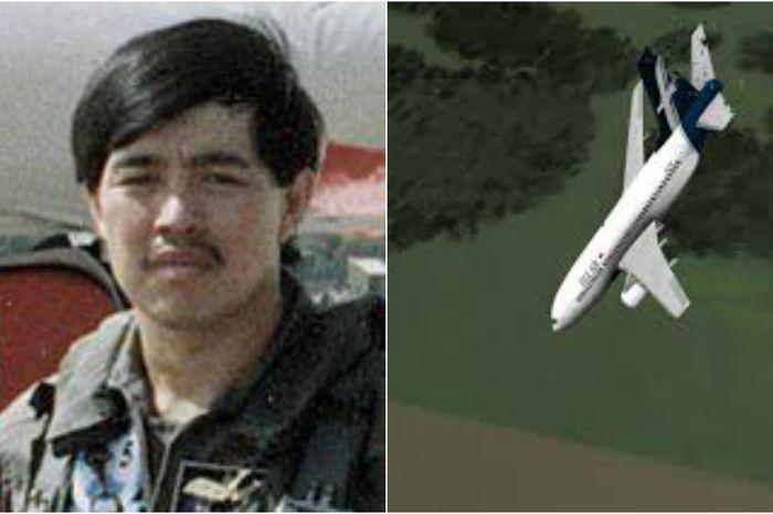 Pilot Tsu Way Ming dari Singapura dan simulasi jatuhnya Silk Air 185