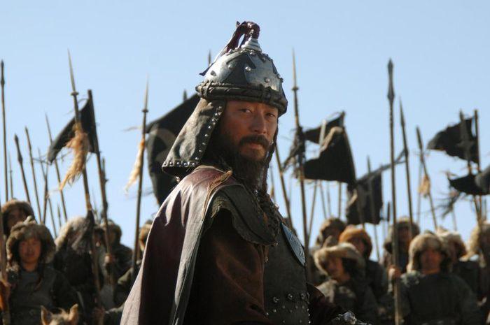 Genghis Khan digambarkan dalam film