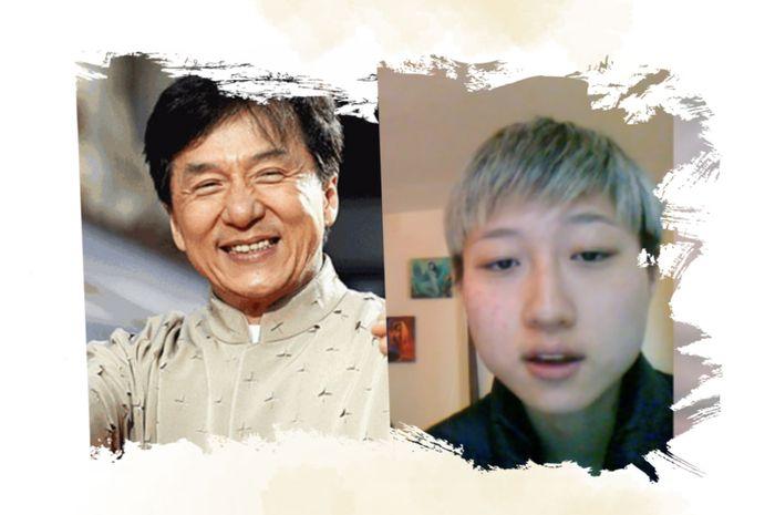 putri Jackie Chan mengaku suka sesaman jenis dan diusir dari rumah