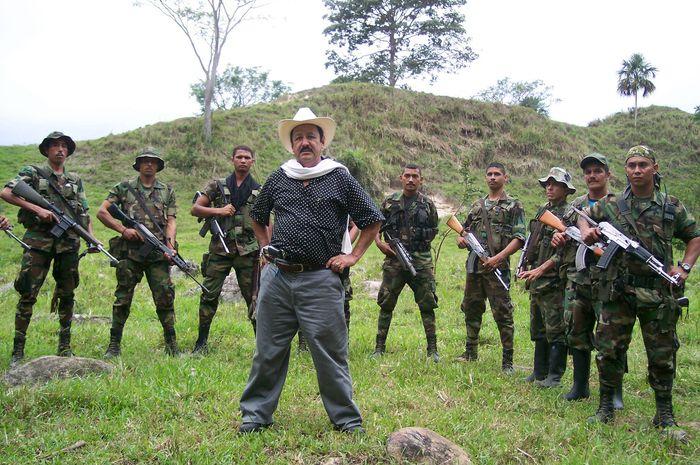 Tentara bayaran di Colombia