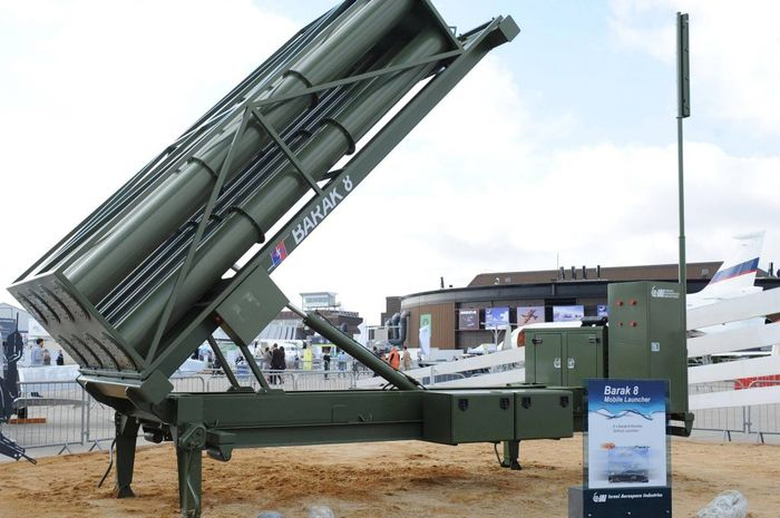 Sistem pertahanan udara Israel Barak-8