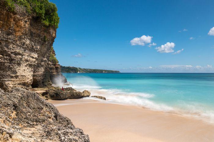 Pantai Dreamland di Bali, Indonesia.