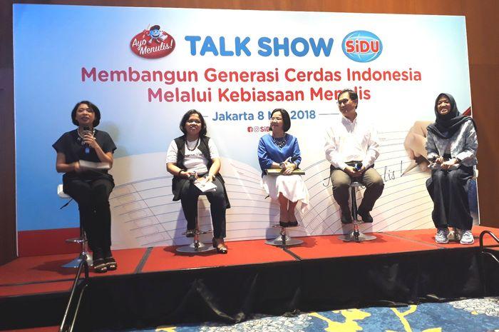 Mengapa tingkat menulis di Indonesia rendah dibahas dengan gamblang dalam gelar wicara