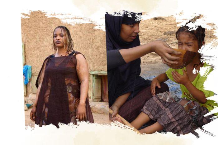 gadis di Mauritania dipaksa konsumsi banyak makanan agar gemuk