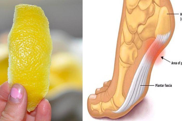 Kulit lemon untuk nyeri sendi