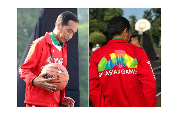jaket Asian Games Jokowi