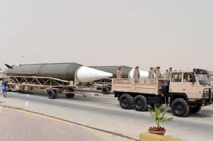 Rudal balistik Dongfeng milik Arab Saudi