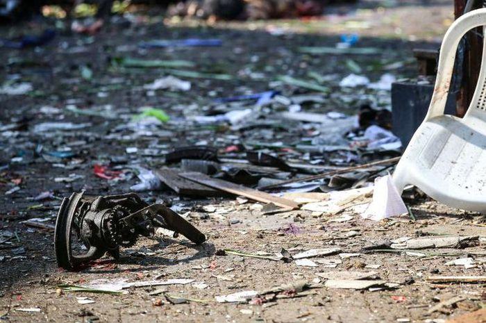 Ledakan bom di Surabaya