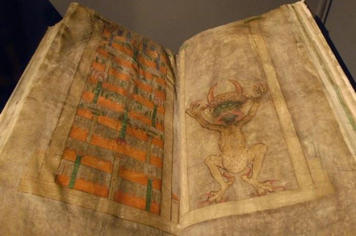 Codex Gigas , Kitab Iblis