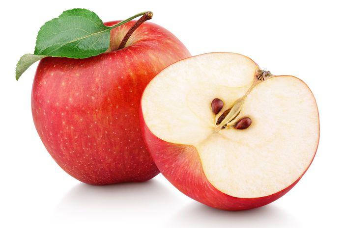 Manfaat buah apel untuk kulit.