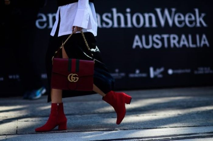 Fashion street di Mercedes Benz Fashion Week Australia