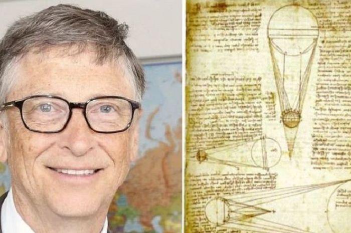 Bill Gates membeli Codex Leicester