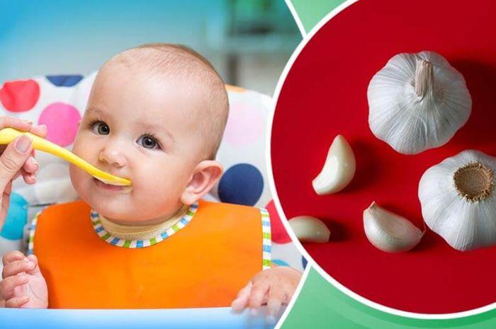 Manfaat bawang bersih untuk bayi