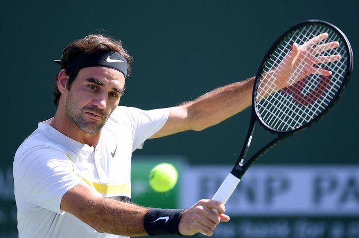 Salah satu atlet tenis Roger Federer