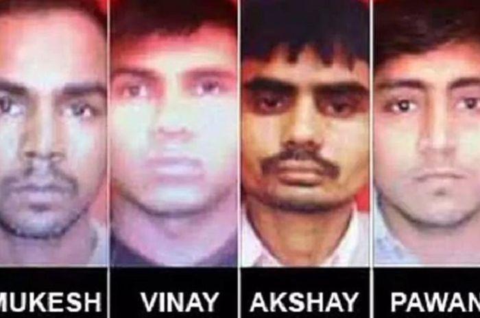 Beberapa pelaku pemerkosaan