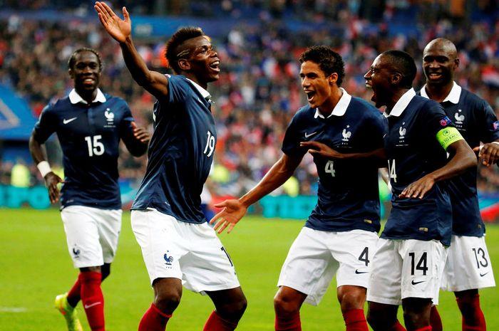 Pogba dan kawan-kawannya di timnas Prancis