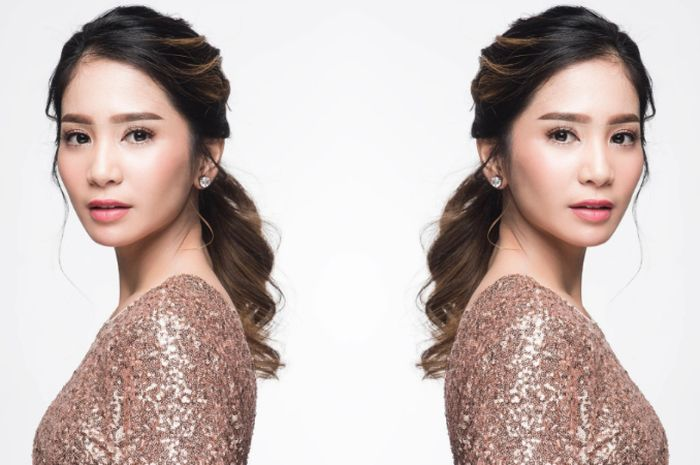 Dikenal dengan rambut panjangnya, Bunga Zainal kini tampil dengan gaya rambut baru loh, intip yuk!
