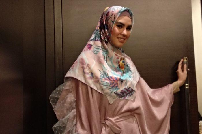 Kartika Putri saat Grid.ID temui di kawasan Senayan, Jakarta Pusat, Jumat (18/5/2018).