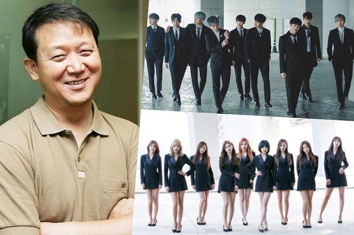Kim Kwang Soo, produser musik MBK Entertainment.