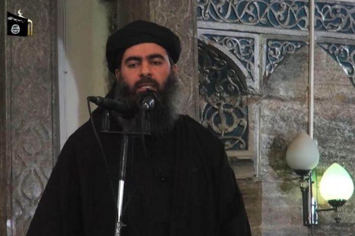 Abu Bakar Al-Baghdadi hanya memperlihatkan wajahnya sekali pada Juli 2014.